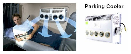 RIGID DC Air Conditioner, parking cooler for Truck and Vehicles