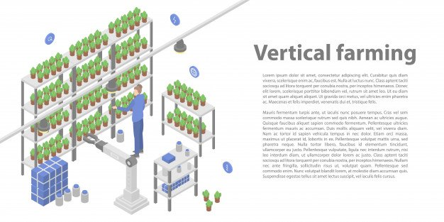 vertical-farming by using compact liquid chiller